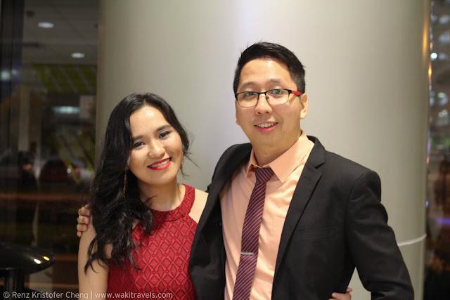 Jieza Varela and Renz Cheng