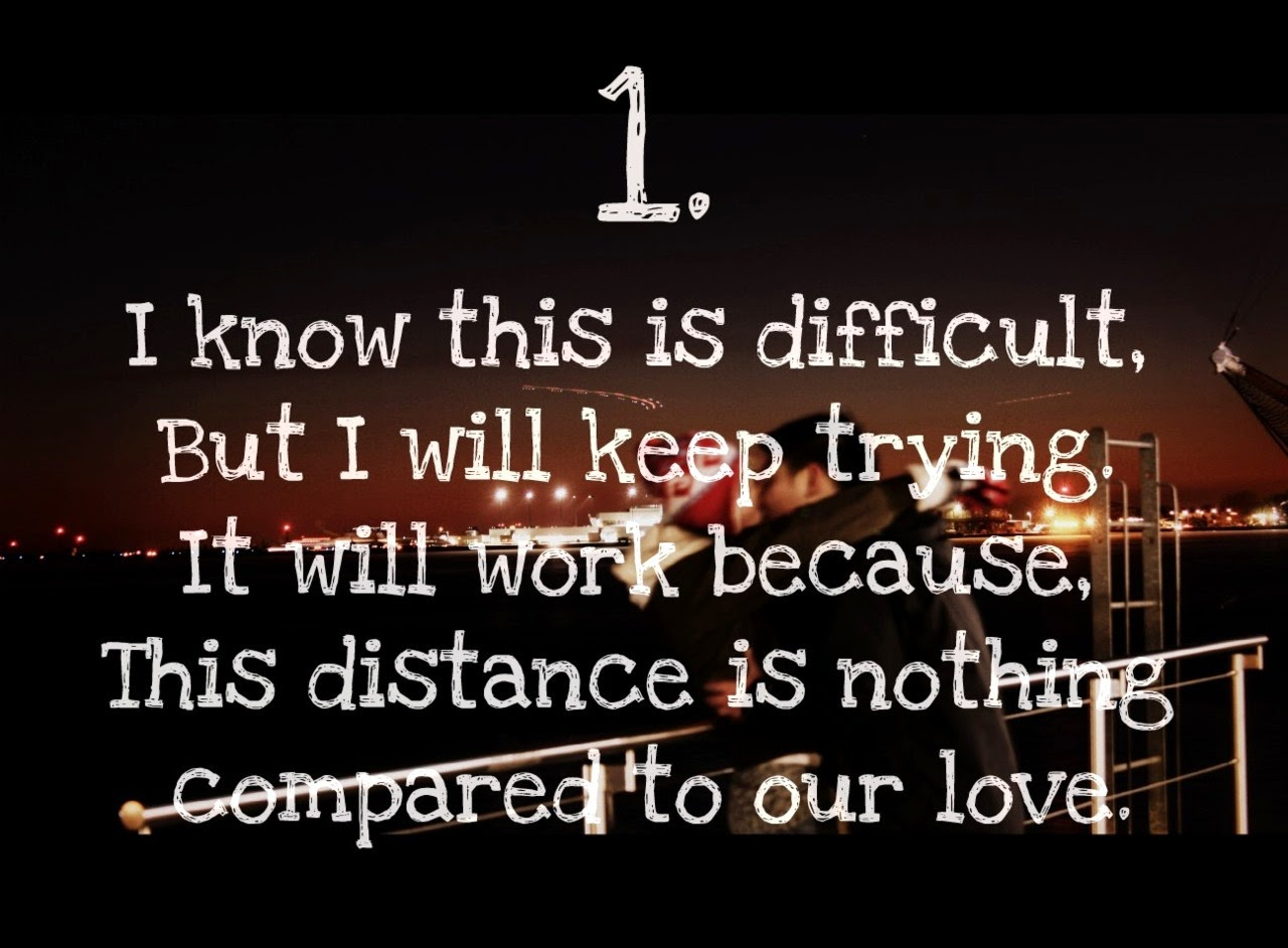 Long Distance Relationship Quotes For Her And For Him