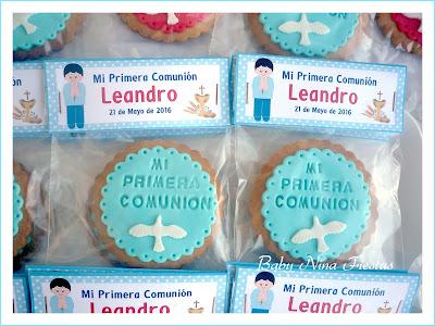 galletas comunion niño