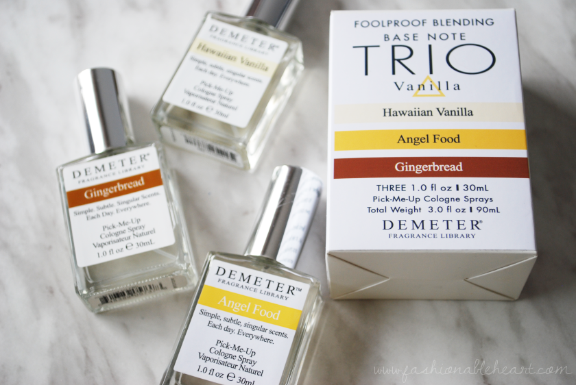 bbloggers, bbloggersca, demeter, cbbfoolproofblend, cbb, fragrance, perfume, scent, review, gingerbread, blending