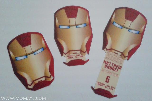 Iron Man Invitation