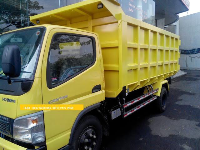 paket dp kecil mobil dump truck colt diesel 2019