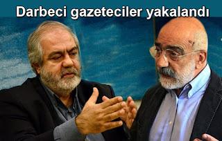 Ahmet ve Mehmet Altan tutuklandı