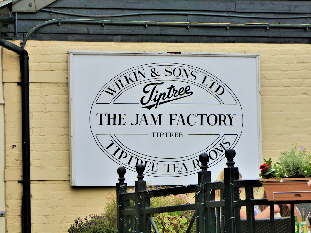 Inside the Tiptree Jam Factory Museum and Tearooms in Tiptree, Essex