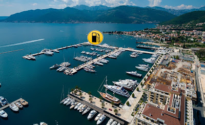 Refueling with duty free diesel in Montenegro