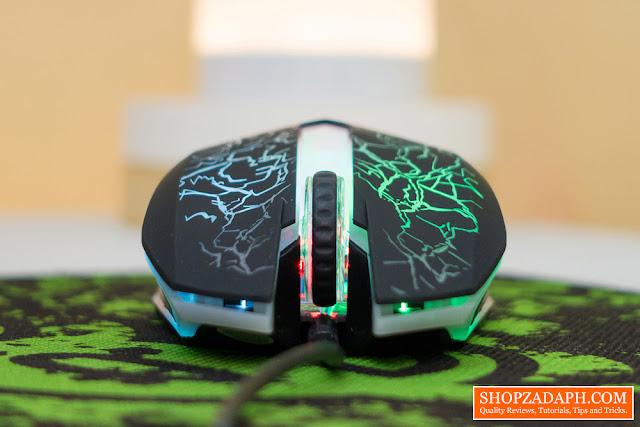 zeus m-110 gaming mouse price - 200 pesos