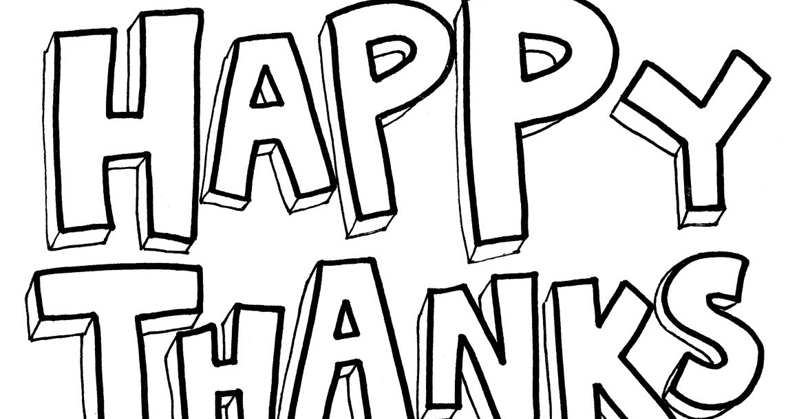 Happy Thanksgiving Coloring ~ Child Coloring