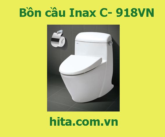 Giá | đặc điểm | tính nẵng bồn cầu Inax C- 918VN