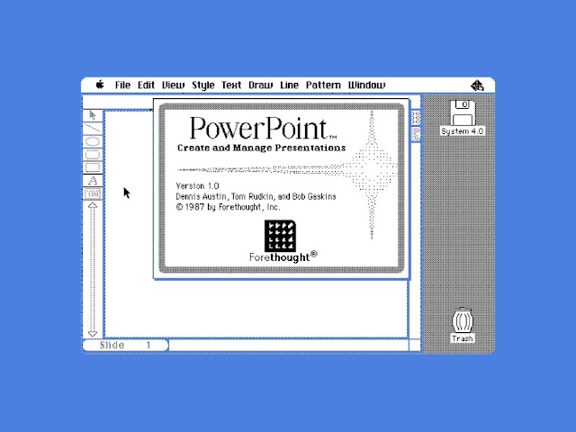 The Improbable Origins of PowerPoint