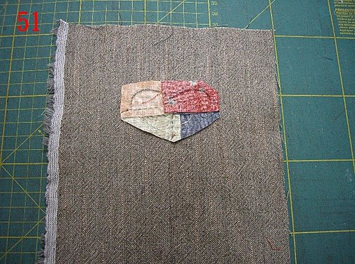 Japanese patchwork quilt bag / zipper pouch sewing purse DIY tutorial.