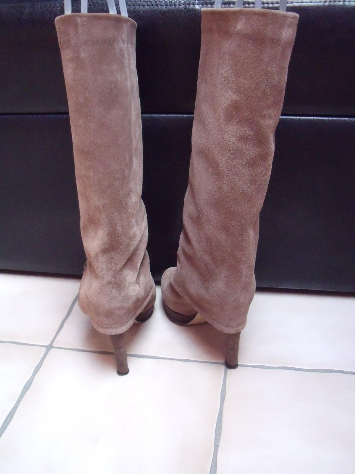 magasin d'usine 3e72a 084dd VIMODA eBay store: Bottes italiennes en daim beige/brun clair 37