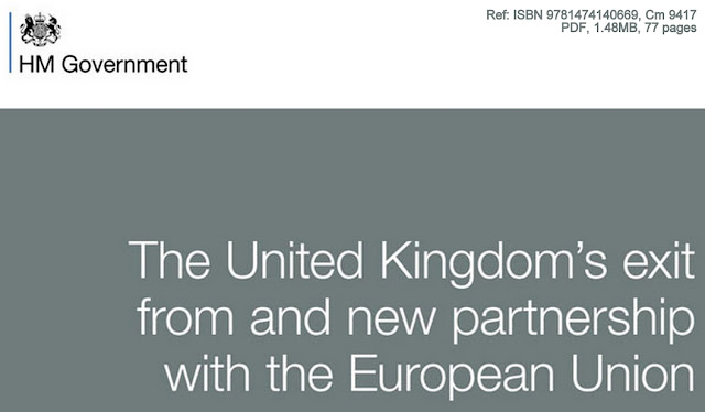 THINK TANK | Thin Gruel: The UK Government's Brexit White Paper