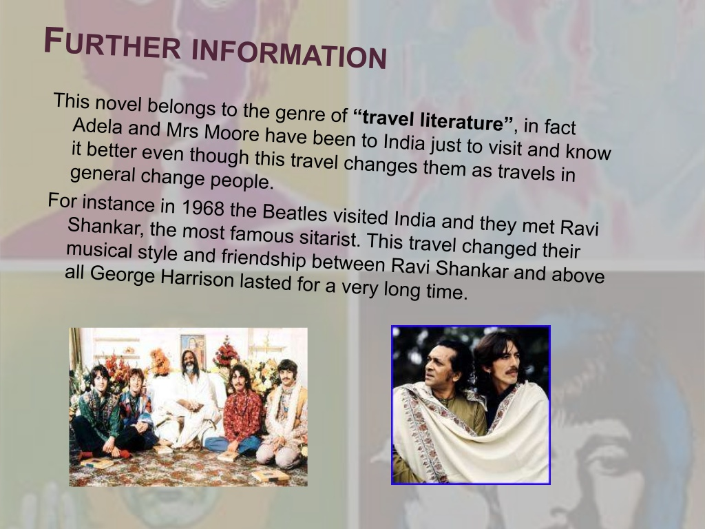 an analysis of the novel a passage to india Yes, analyzing analysis isn't particularly exciting but it can, at least, be enjoyable care to prove us wrong forster's a passage to india is perhaps the most modernist of his novels with its emphasis on the complex interior life of the characters, experimentation with interweaving, complicated plots.