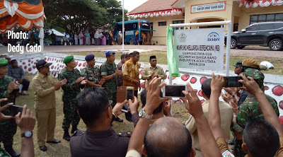 Kegiatan Bhakti Sosial TNI-KB Kesehatan di Buka di Banda Baro