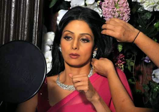Actress Sridevi, Sridevi in Puli, Tamil Film Puli, Bollywood diva Sridevi
