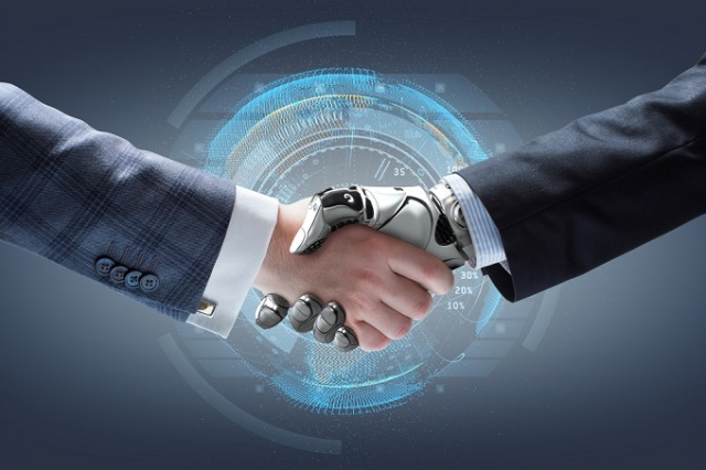 The advanced technology of using robots come in industrial revolution 3.0