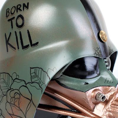 Steampunk Vader Helmet