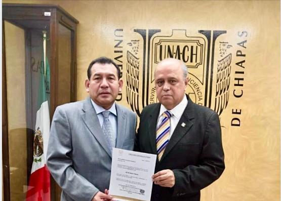 Beimar Palacios, es el nuevo  Secretario general de la Unach