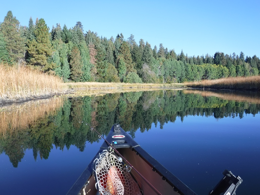 A Drifting Cowboy Paddling The Upper Klamath Canoe Trail