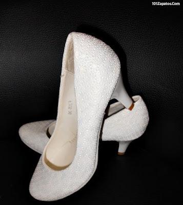 Zapatos de novia blancos