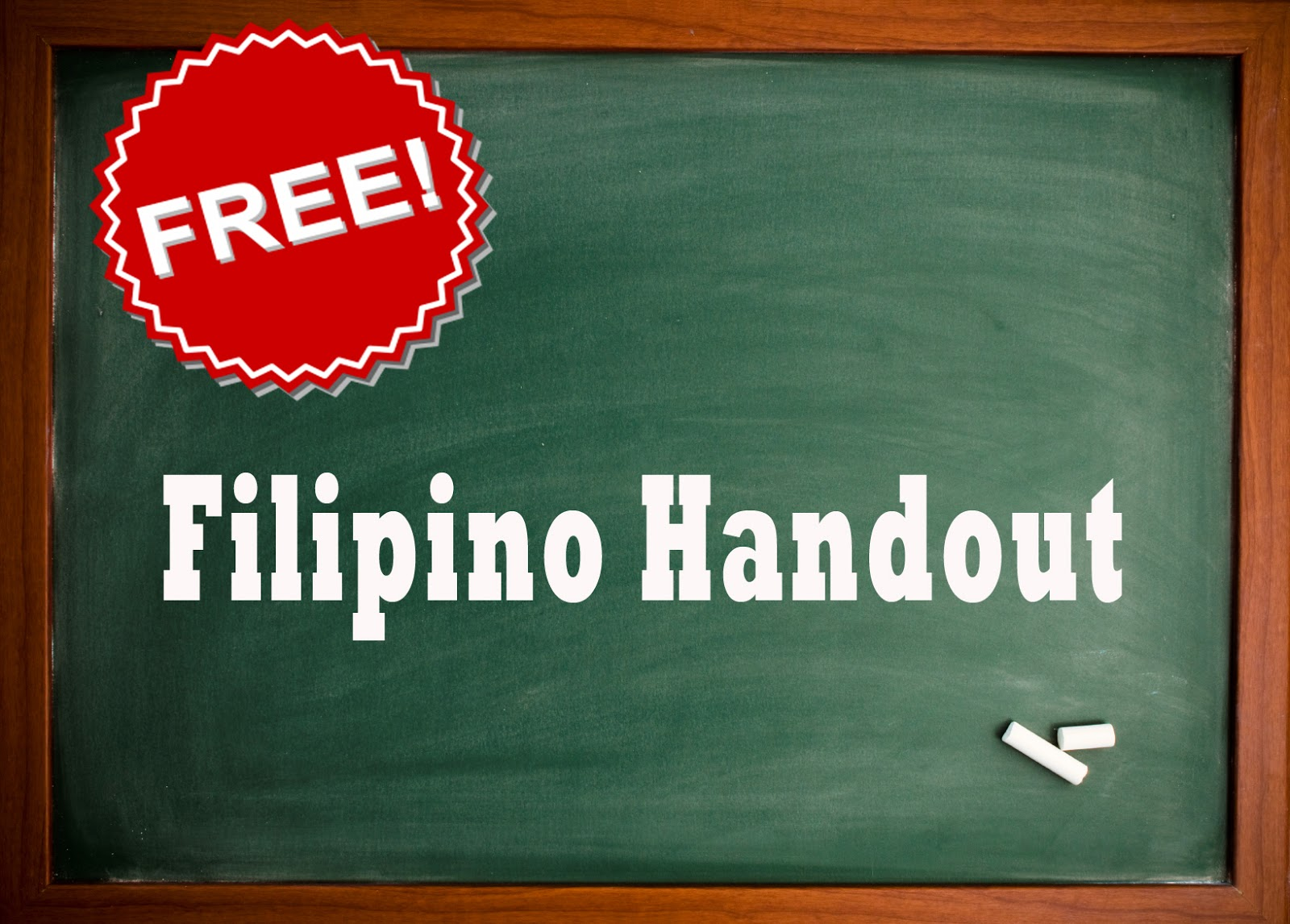 New Filipino Handout 2