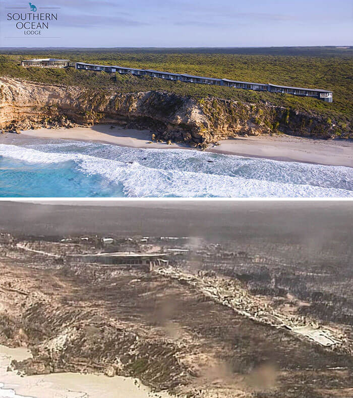 24 Heartbreaking Pictures Compare Australia Before And After The Catastrophic Bushfires