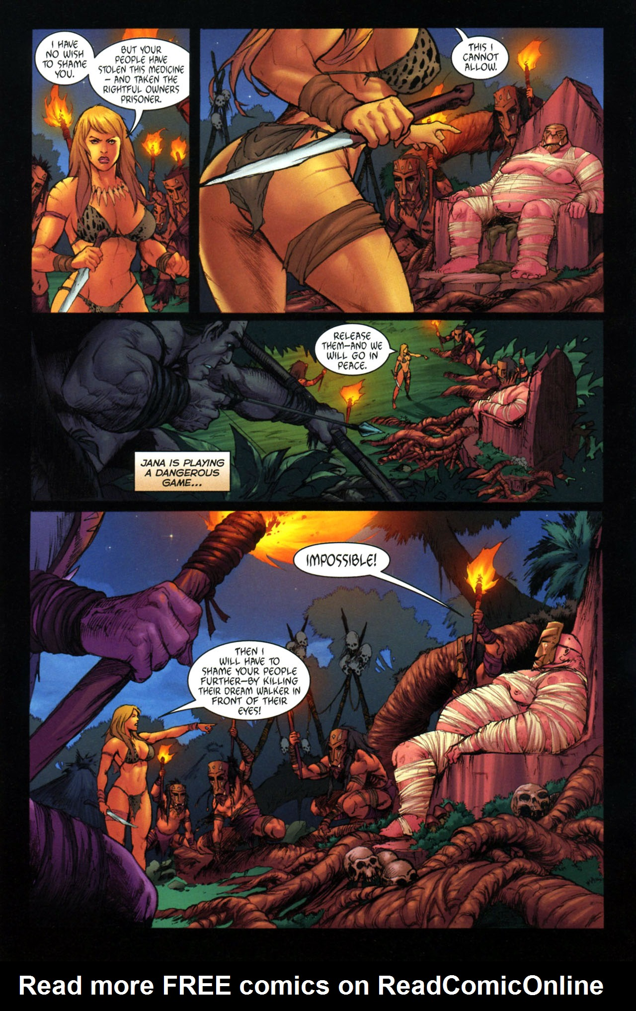 Read online Jungle Girl comic -  Issue #3 - 19