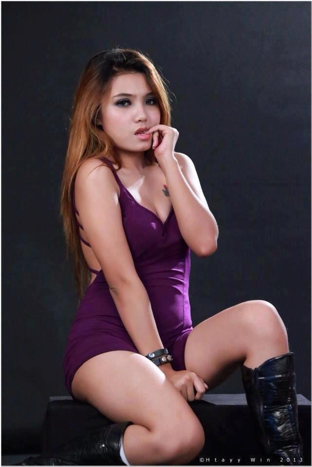Myanmar Model Images: Myanmar Hot Sexy Model : Khin Me Me