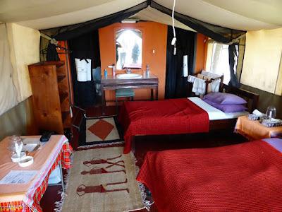 Nuestra tienda en Nyumbu Camp