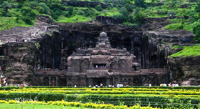Ellora Mağaraları/Hindistan-Maharashtra