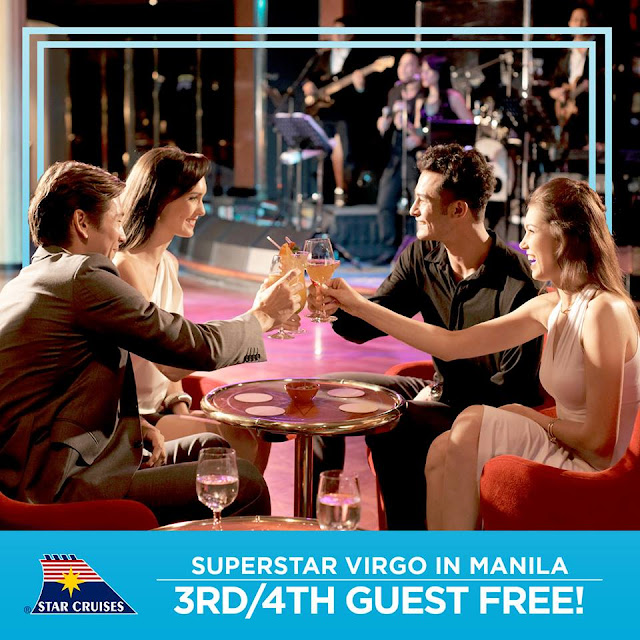 Cruise One Take One or 3rd and 4th Guest Free Star Cruises Promo