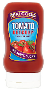 no added sugar, healthy, ketchup, calories