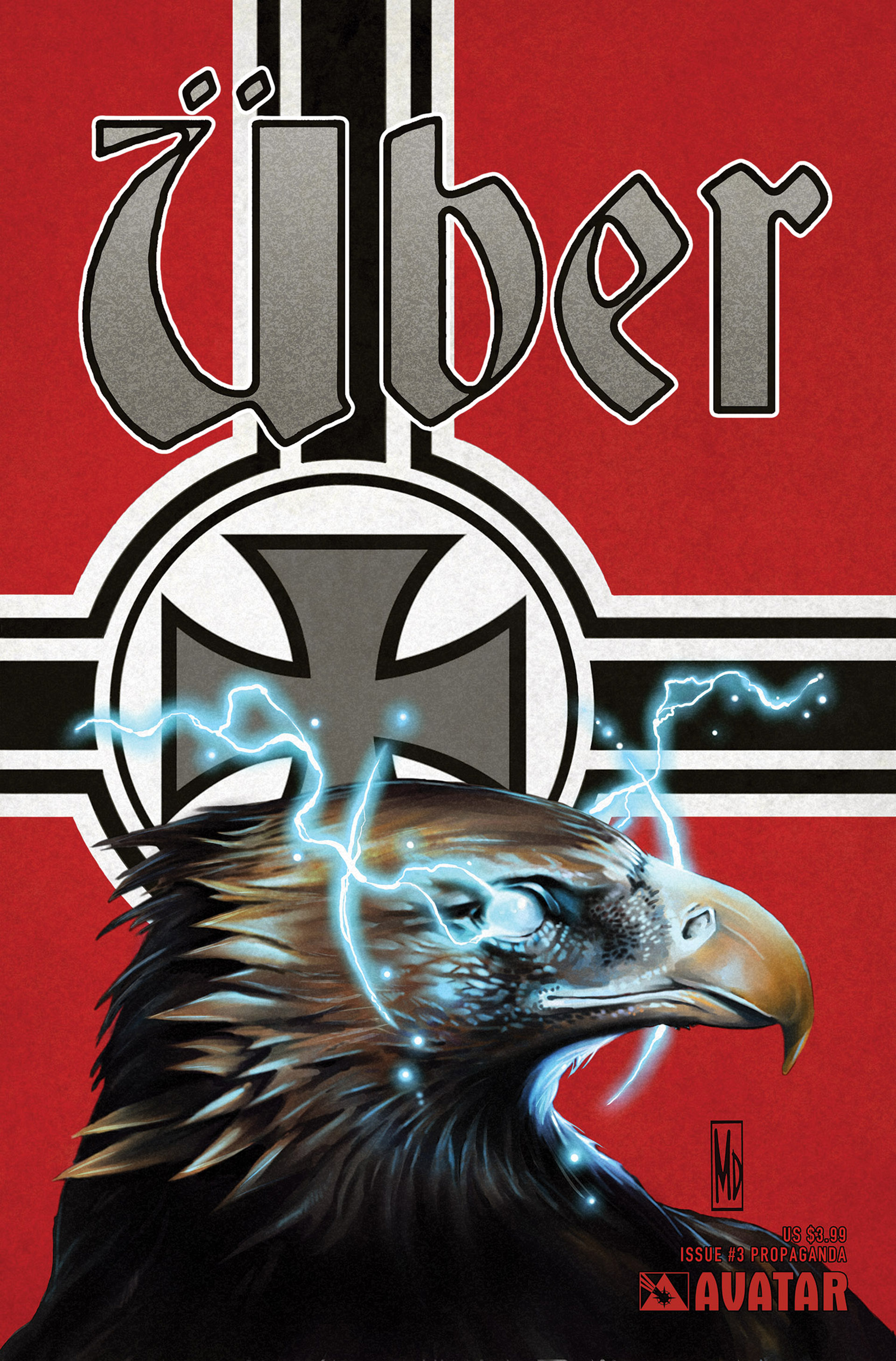 Read online Uber comic -  Issue #3 - 2