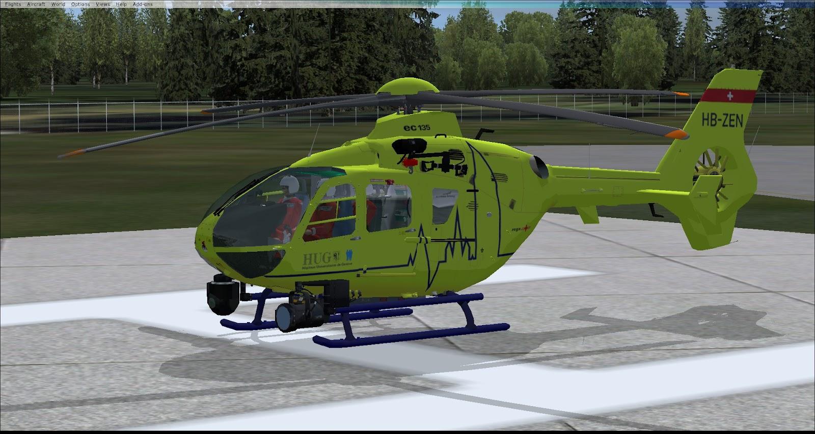 the h s design eurocopter ec135 freeware. Black Bedroom Furniture Sets. Home Design Ideas