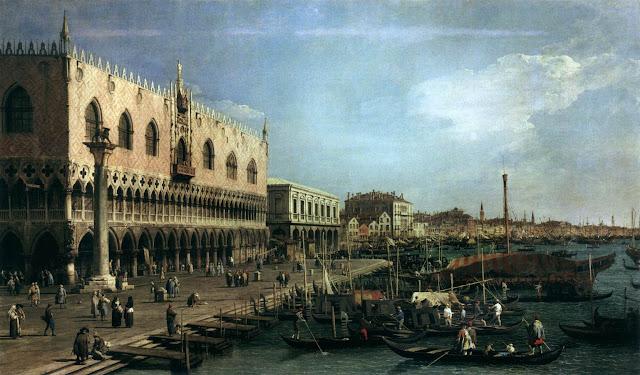 Riva degli Schiavoni. La versione della Pinacoteca del Castello Sforzesco di Milano