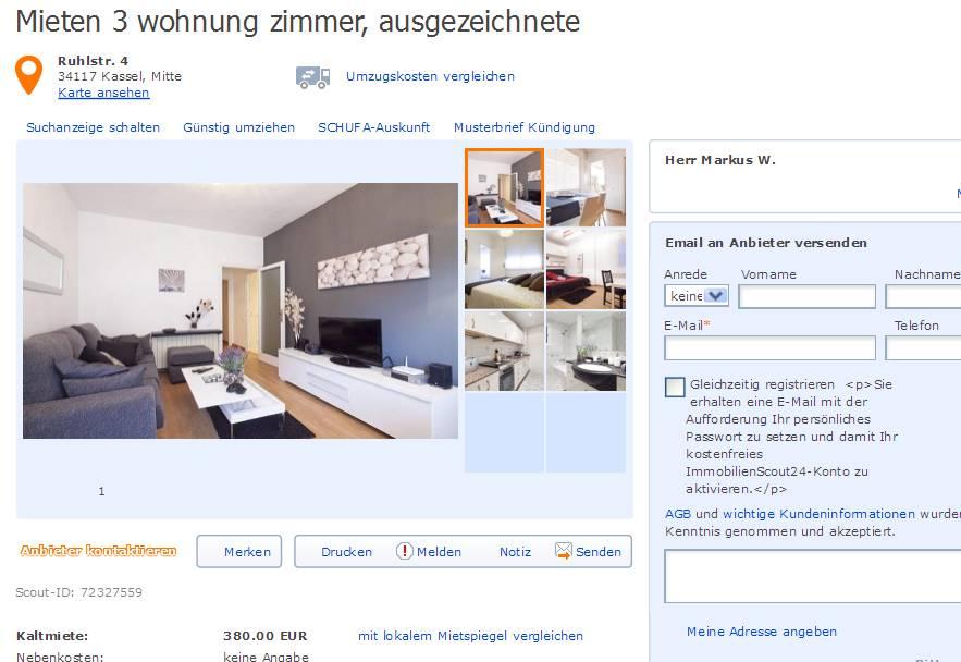 Wohnung Stuttgart Mieten  Zimmer