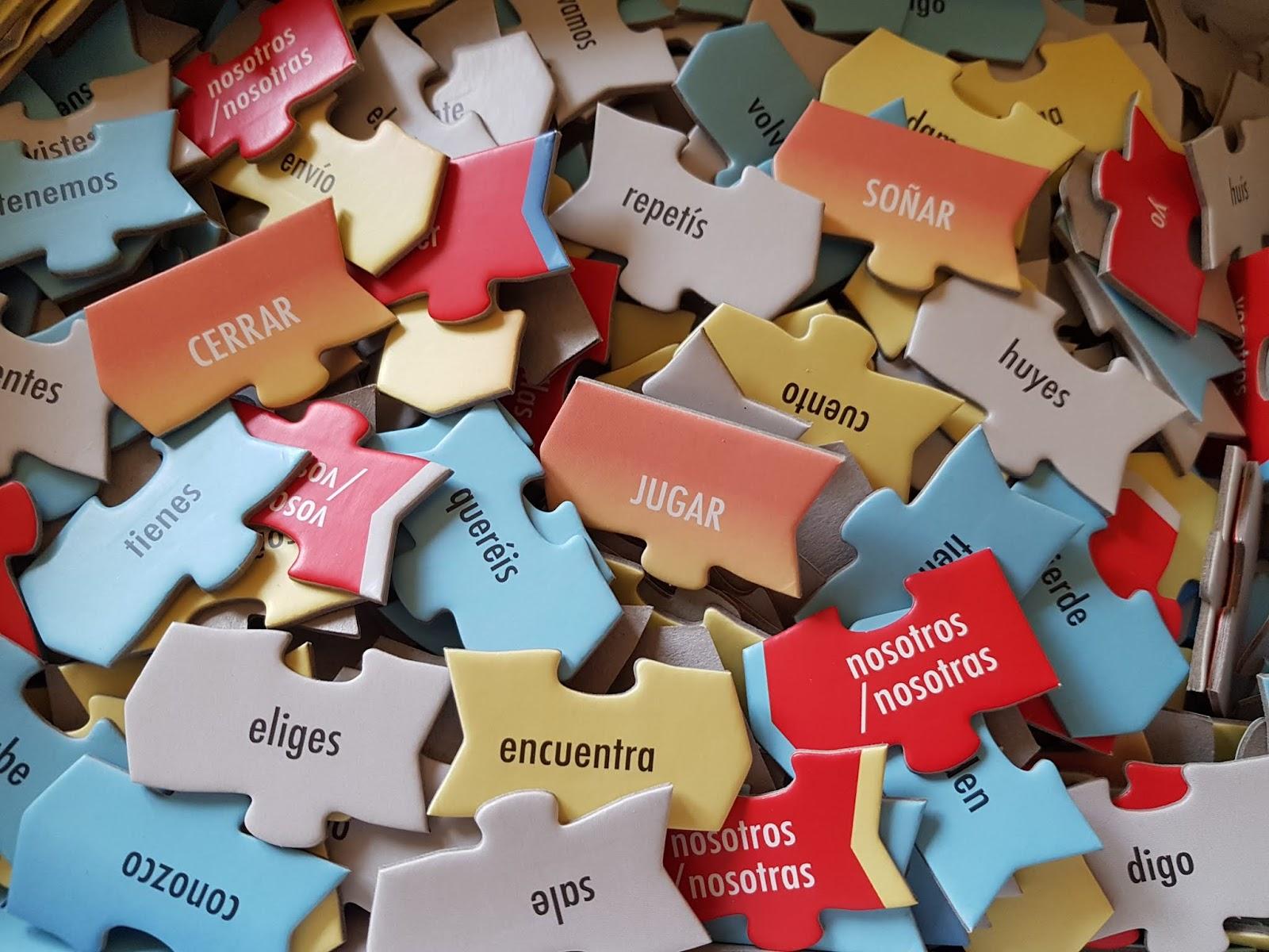 Puzzle do nauki hiszpańskich czasowników nieregularnych - czy to się sprawdza?