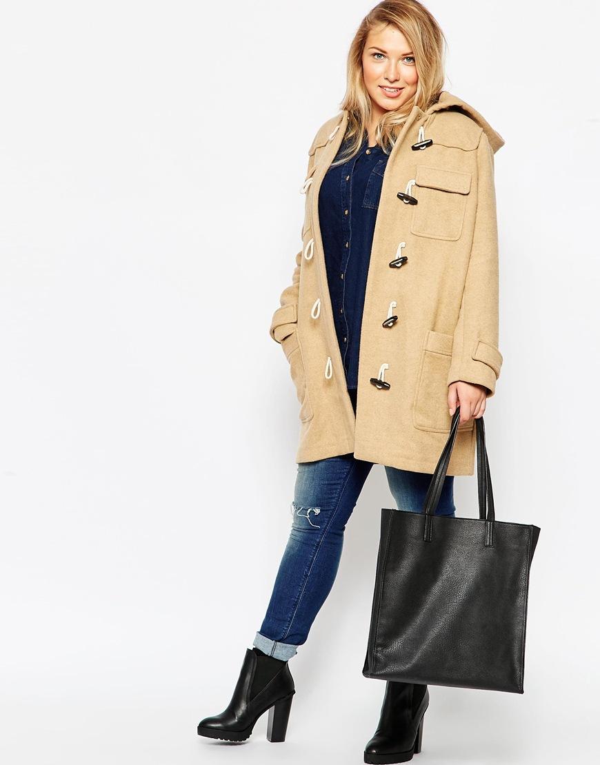 06ddf342ad3 Plus Plus TREND Womens FASHION ASOS ASOS Duffle Coat Classic LATEST Size  4p8pdS