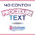 40 Kumpulan Contoh Procedure Text Tentang Makanan / Minuman dalam Bahasa Inggris dan Terjemahannya