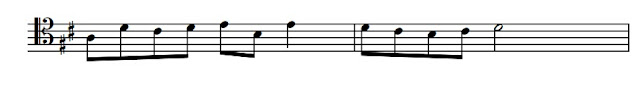 an examination may require you to write out a simple melody from treble or bass clef into tenor clef or vice versa