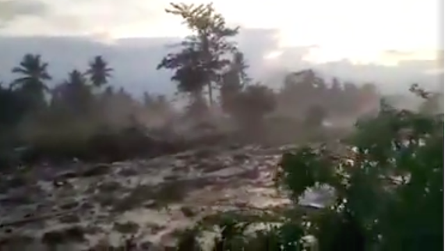 Nyata, Cerita Korban Tsunami Palu Selamat Karena Doa Sang Ibu, Sudah Terseret Lumpur 200 Meter
