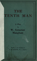 The Tenth Man, n.d. Wardour Films - W. Somerset Maugham