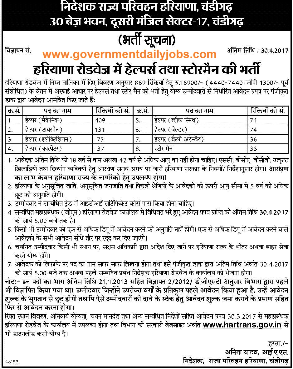 More other jobs in haryana