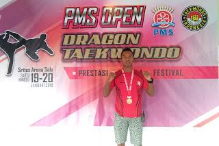 Prajurit Yonif 410/Alugoro Juara Taekwondo di Solo