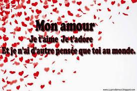 Texte d'amour je t'aime fort