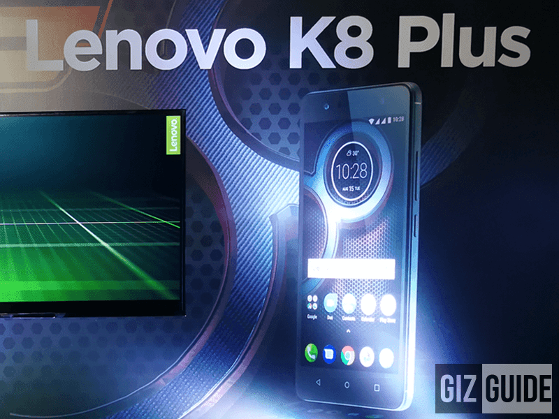 Lenovo launches K8 Plus in the Philippines too!