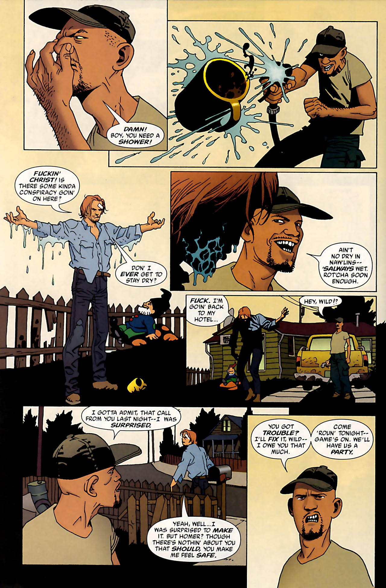 Read online 100 Bullets comic -  Issue #53 - 10
