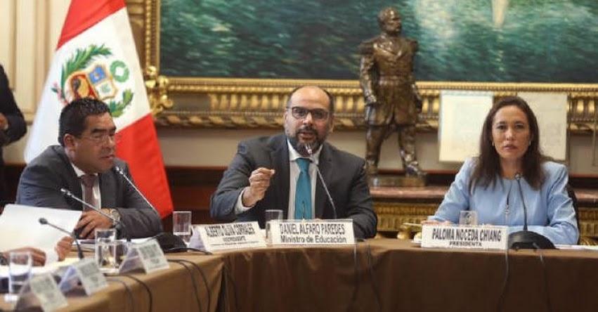 MINEDU: Ministro de Educación responderá ante el Congreso por cuestionados textos escolares - www.minedu.gob.pe