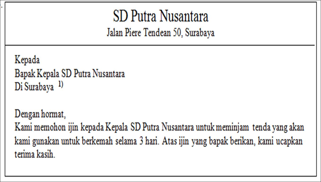 Contoh Soal Try Out Ujian Nasional Sd Sekolah Dasar Mata Pelajaran Bahasa Indonesia Paket 1