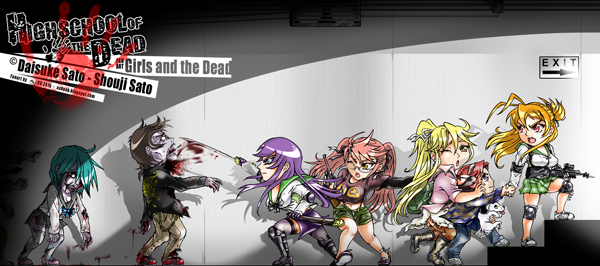 FanArt Girls and the Dead HOTD_by Ax ! [size 30%]